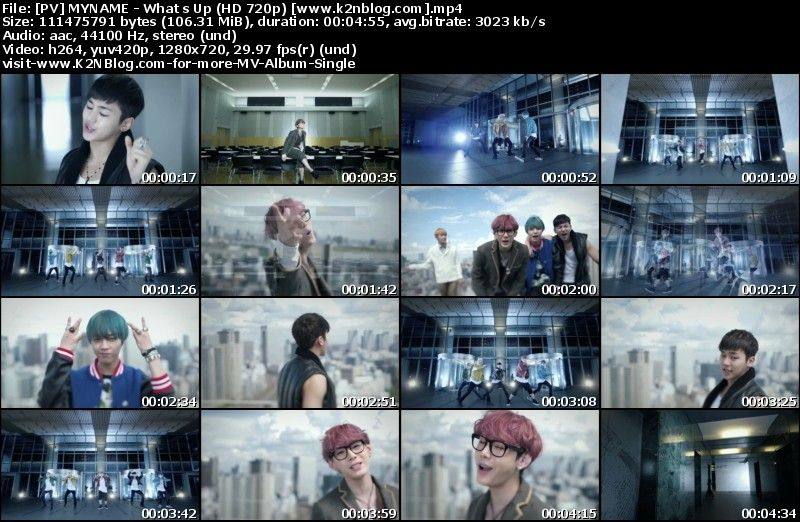 [PV] MYNAME - What's Up (HD 720p)