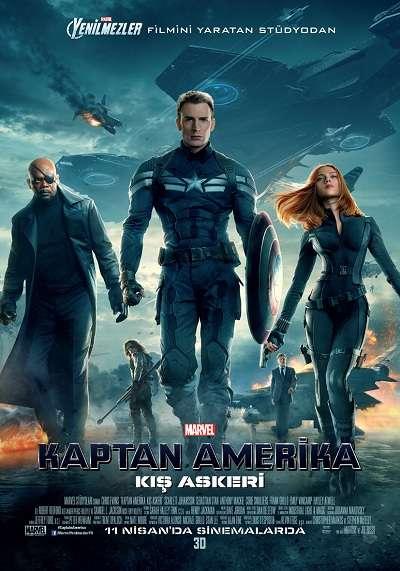 Kaptan Amerika: Kış Askeri - 2014 Türkçe Altyazı DvDScR MKV indir