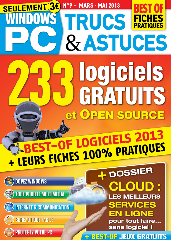 Windows PC Trucs & Astuces N°9 Mars Avril Mai 2013