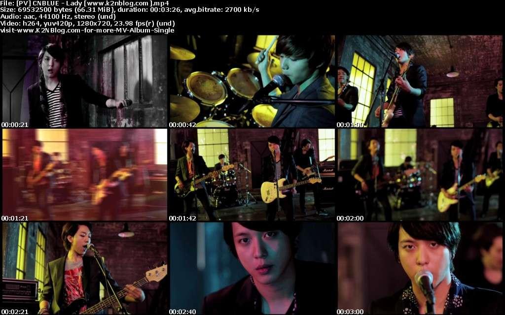 موزیک ویدئویی جدید از cnblue