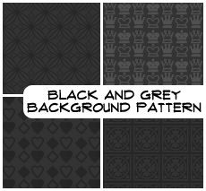 Black BG Patterns