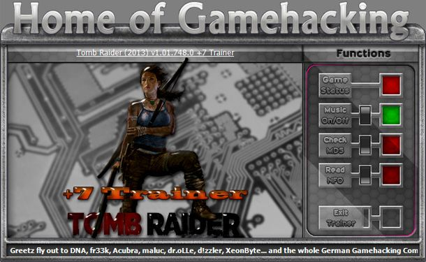 Tomb Raider 1.01.748.0 +7 Trainer [HoG]