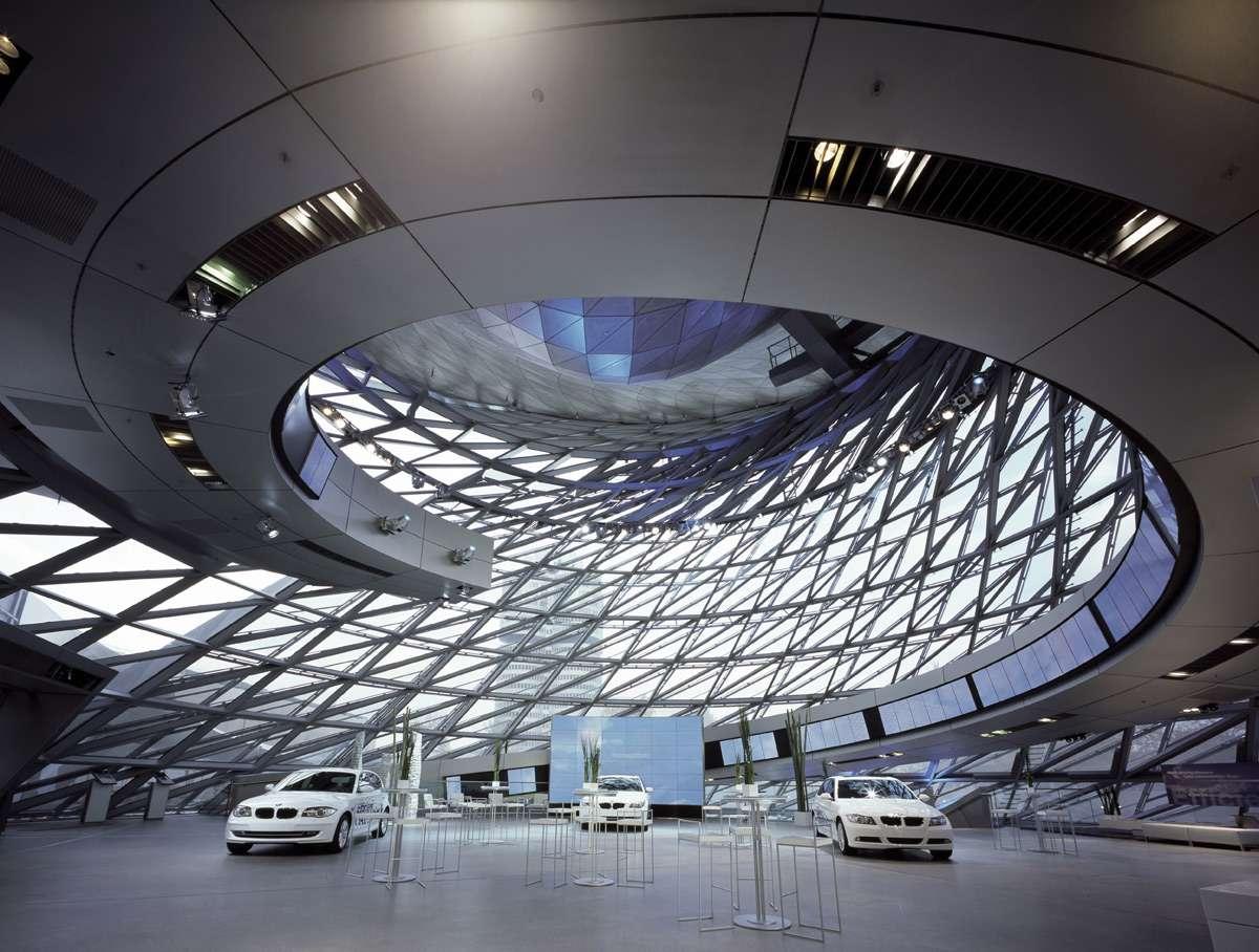 The most beautiful car dealerships bmw welt munich germany autocar regeneration