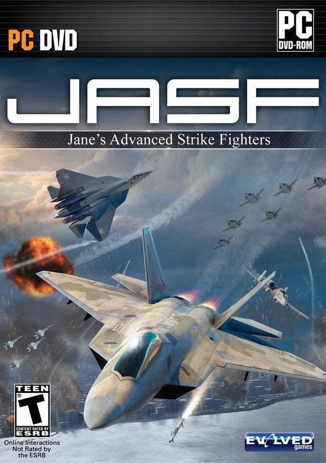 JASF: Jane's Advanced Strike Fighters - SKIDROW (Tek Link)
