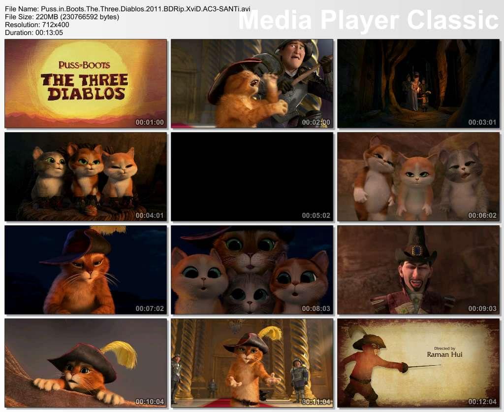 Çizmeli Kedi: Üç Küçük Şeytan - 2011 BDRip XviD AC3 - Türkçe Altyazılı Tek Link indir