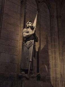 Joana d'Arc - Catedral de Notre Dame