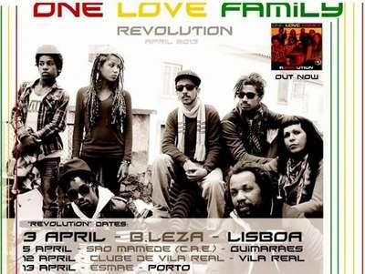 ONE LOVE FAMILY SOMDIRETO