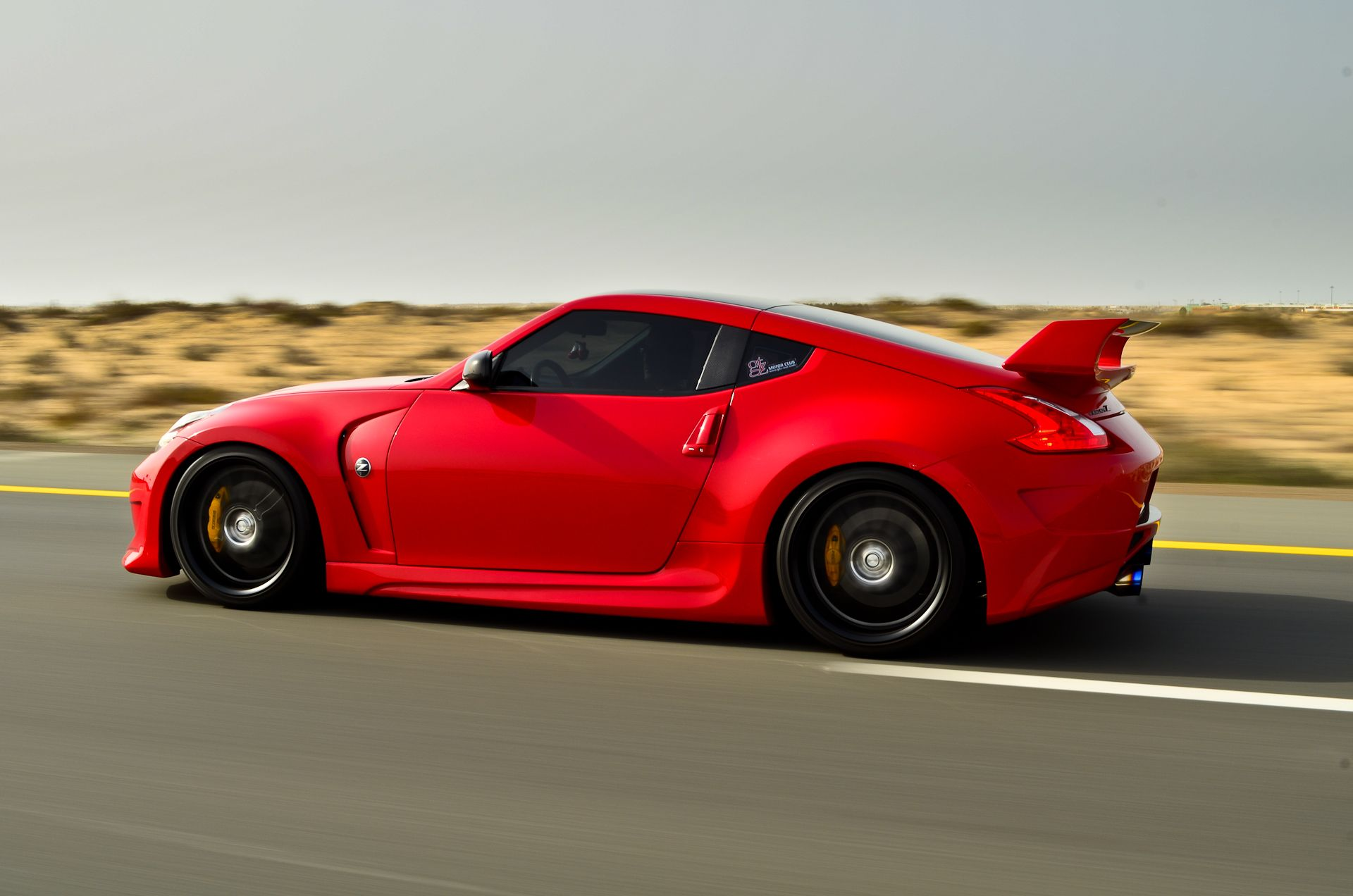 Official Solid Red 370Z Thread